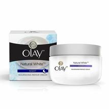 Olay Natural White Night Nourishing Repair Cream 50g FREE SHIPPING FOR USA - $18.04