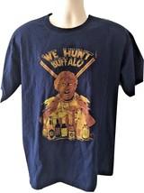 Navy Blue We Hunt Buffalo Cotton Tshirt By Helly Hansen Sz L Large EUC - $49.99