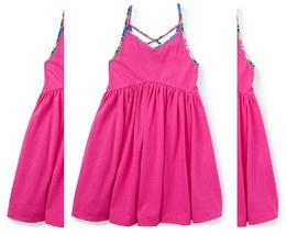 Ralph Lauren Little Girls' Jersey Swing Dress,Regatta Pink,Size XL(16), MSRP $45 - $22.76