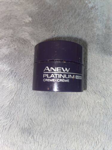 Primary image for AVON Anew Platinum Night Cream/Creme .25oz