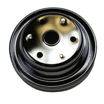 Crankshaft Pulley Double-Groove LWP Long Water Pump For Chevy SBC 262 307 400 image 7