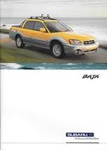 2003 Subaru BAJA brochure catalog 03 US Outback - $10.00