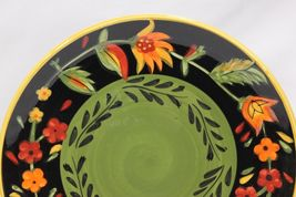 222 Fifth Arabian Flower Dinner and Salad Plates Lot of 11 Hand Painted image 4