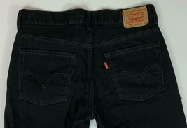 LEVI MEN'S 550 BLACK JEANS  Size 30* X 29 - $18.76