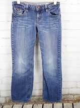 Gap Kids Straight Leg Jeans 1969 Boys Size 10 Plus Medium Wash Cotton Stretch image 1