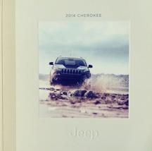 2014 Jeep CHEROKEE brochure catalog US 14 Limited Trailhawk Latitude Sport - $8.00