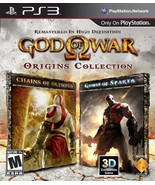 God of War Origins Collection - Playstation 3 [video game] - $29.69