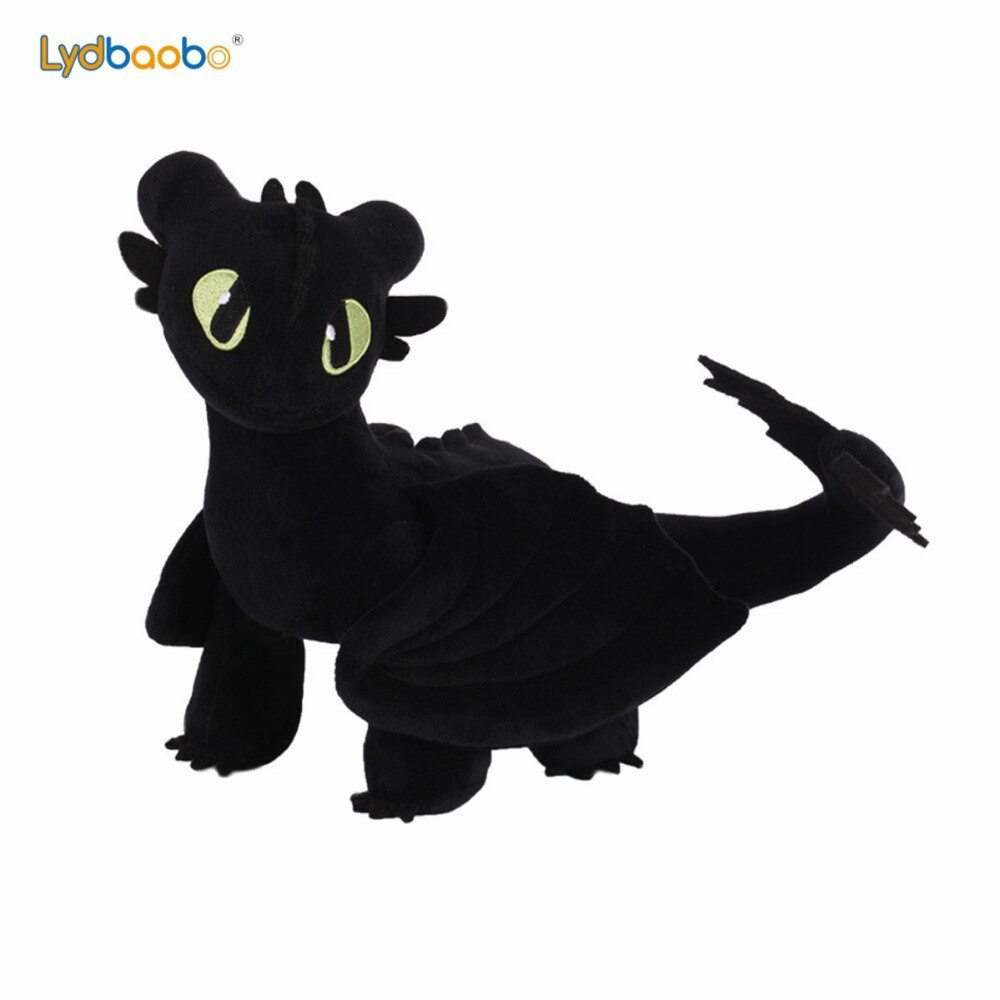 Primary image for 35cm Anime Movie How to Train Your Dragon Plush Toys Toothless Night Fury Stuffe