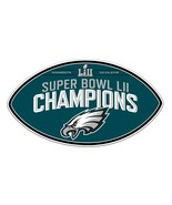NFL Philadelphia Eagles Super Bowl LII 52 Champions Magnet - $13.89