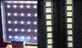 100 PCS White LG Original LED LCD TV Backlight Lamp Beads Lens 1210 3528 2835 1W - $6.92