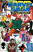 The Marvel Saga No.1 Vol.1 (Comic) 1985 [Comic] by Peter Sanderson; jack... - $7.99