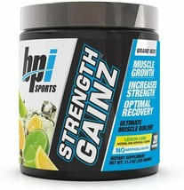 bpi Sports  STRENGTH GAINZ  Lemon Lime net. wt. 11.3 oz.  Exp. 02/2022 New - $25.00