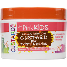 Luster's Pink Kids Curl Creation Custard for Twists & Braids Hair 8oz - $12.82