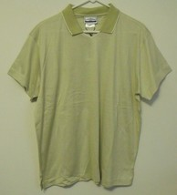 Womens Outer Banks NWT Green Ivory trim Stripe Short Sleeve V Neck Shirt... - $14.95