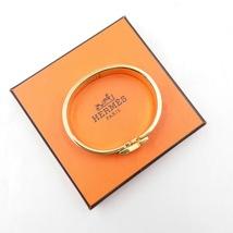 Authentic Hermes Navy Blue Enamel Gold H Clic-Clac Bracelet PM RARE image 5