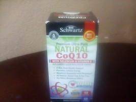 BioSchwartz Natural CoQ10 200mg Selenium & Vitamin E 60 Softgels Exp 08/21 NEW - $7.00