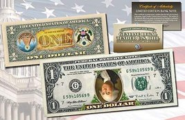 INVERTED ONE DOLLAR $1 US Bill Legal Tender COLORIZED 2-Sided UPSIDE DOW... - $10.84