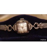 Vintage Ladies 10K rgp Benrus 17j  Watch unique... - $47.95