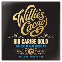 Willie's Cacao Venezuelan Dark Chocolate 72% 80g - $9.46