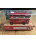 2002 The City Collection London Evening Bus Routemaster Bus (New in Box) - $14.99