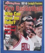 The Sporting News Pro Basketball 1997 1998 In Depth Previews Magazine - $5.95
