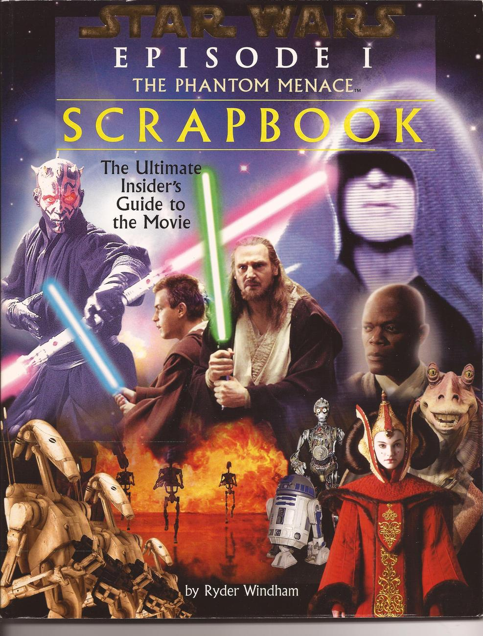 Primary image for Star Wars Episode 1 The Phantom Menace Scrapbook Ultimate Guide To The Movie