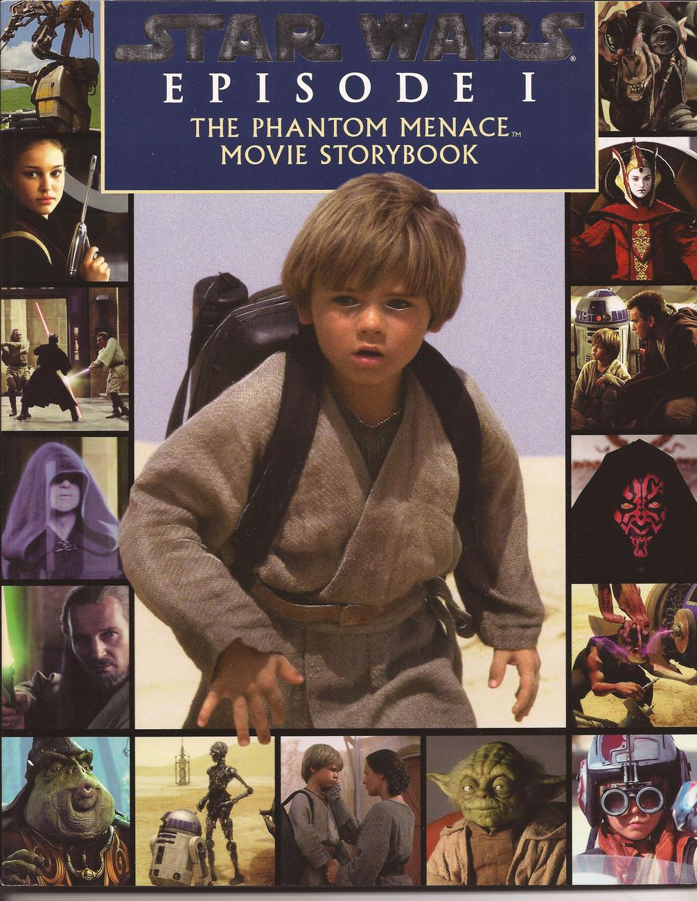 Primary image for Star Wars Episode 1 The Phantom Menace Movie Storybook Color Photos Storyline