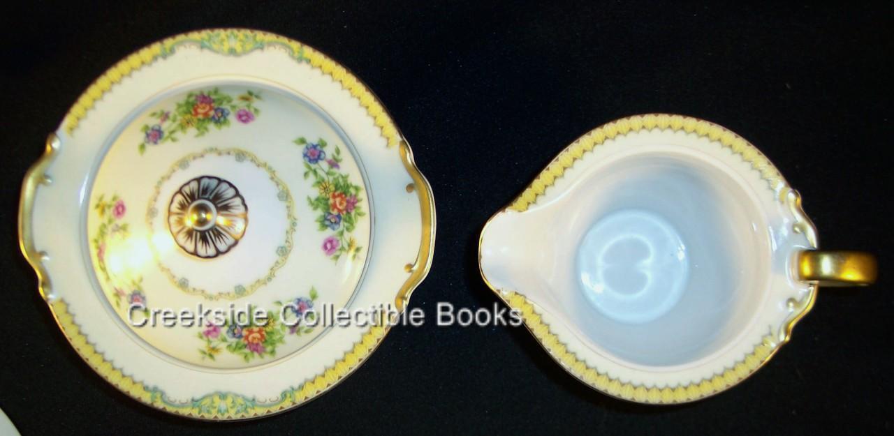 Vintage Newloch China Creamer & Sugar Bowl MIJ Japan
