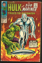 TALES TO ASTONISH #93 HULK vs SILVER SURFER Thomas Adkins M.Severin 1967... - $97.02