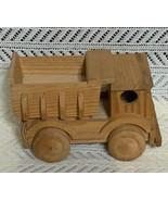 Wood Hand Made Truck. - $25.00
