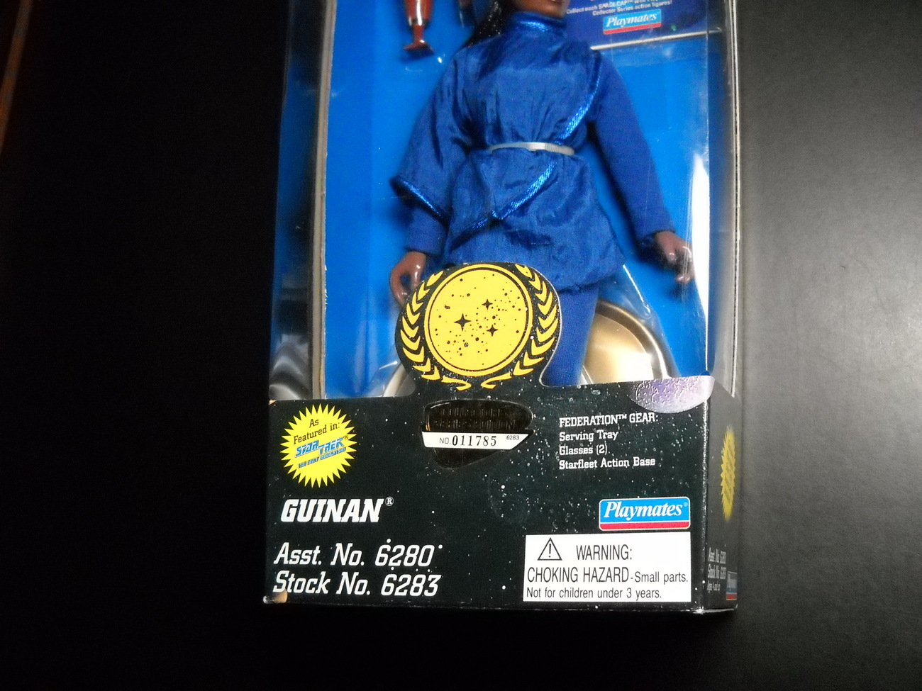 Star Trek Collector Series Federation Edition Guinan 9 Inch 1995 Sealed