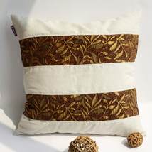 [Gold Autumn] Linen Stylish Pillow Cushion - $19.99