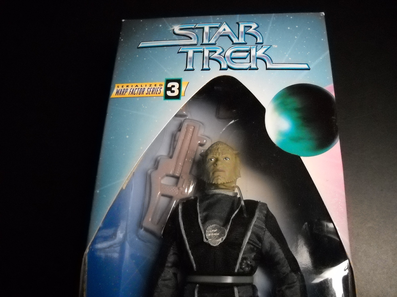 Star Trek Warp Factor Three Jem'Hadar Soldier Deep Space 9 Playmates Sealed Box