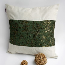 [Exquisite Emerald] Linen Pillow Cushion - $19.99