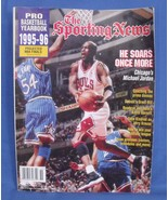 The Sporting News Pro Basketball Yearbook 1995 1996  Magazine - $5.95