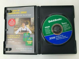 Quickbooks Simple Start 2008 Software Disc Only For Windows (No Product ... - $14.89