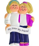 LESBIAN COUPLE ORNAMENT GAY SAME SEX BOTH BLONDE WEDDING GIFT PERSONALIZ... - $14.99