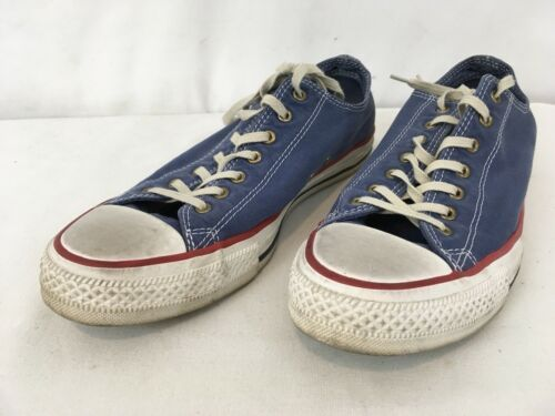 Primary image for Converse All Stars Mens 8 1/2 Wmns 10 1/2 Blue Shoes Sneakers