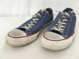 Converse All Stars Mens 8 1/2 Wmns 10 1/2 Blue Shoes Sneakers - $18.81