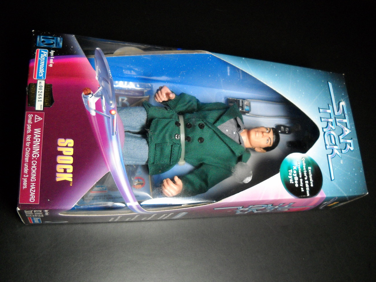 Toy star trek playmates kaybee toy exclusive spock coteof 1997 9 inch boxed sealed 01