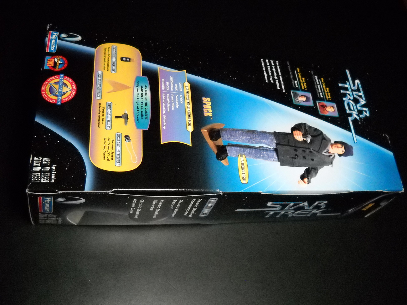 Star Trek Kay Bee Toy Spock 1997 City On The Edge Of Forever In Sealed Box
