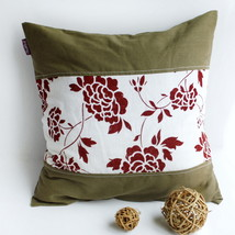 [Floarl Dream] Linen Stylish Pillow Cushion - $19.99