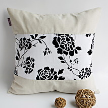 [Floral Wedding] Linen Pillow Cushion - $19.99