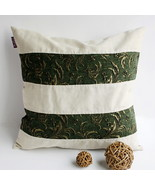 [Green Lake] Linen Stylish Pillow Cushion - $19.99