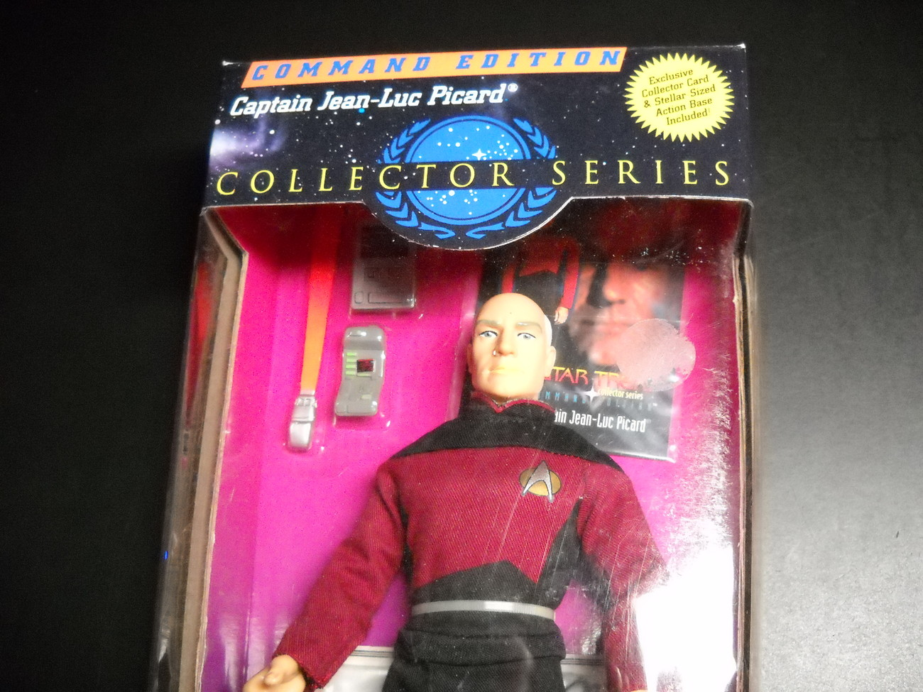 Star Trek Collector Series Command Edition Captain Jean-Luc Picard 1994 Sealed