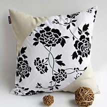 [Floral World] Linen Stylish Pillow Cushion - $19.99