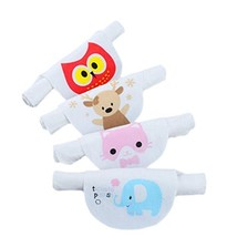 4PCS Cotton Baby Sweat Absorbent Towel 6 Layers Sweat Wicking Pads Bibs ... - $19.53