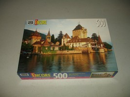 "RoseArt Encore 500 Piece Puzzle -- Switzerland - Brand New, Sealed 13"" b... - $12.86"
