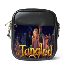 Sling Bag Leather Shoulder Bag Fantasy Movie Kingdom Fairy Tale Tangled ... - $14.00
