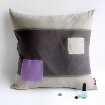 [Simple Fashion] Knitted Fabric Pillow Cushion - $23.99